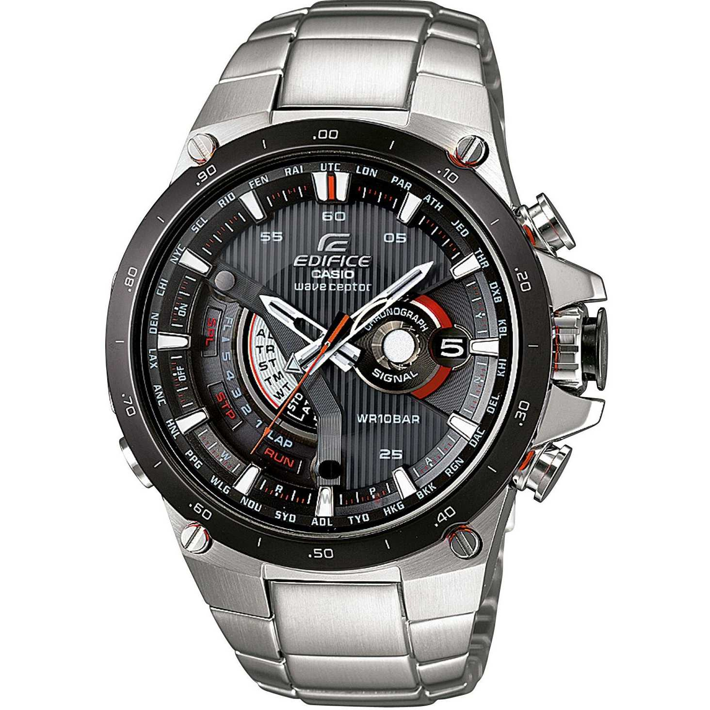 Ceas original Casio EDIFICE EQW-A1000DB-1AER Wave Ceptor