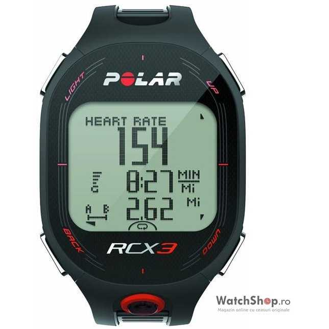 Ceas original Polar MULTISPORT RCX3M GPS BLACK 90042167