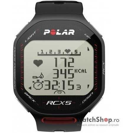 Ceas original Polar MULTISPORT RCX5 BLACK 90038882