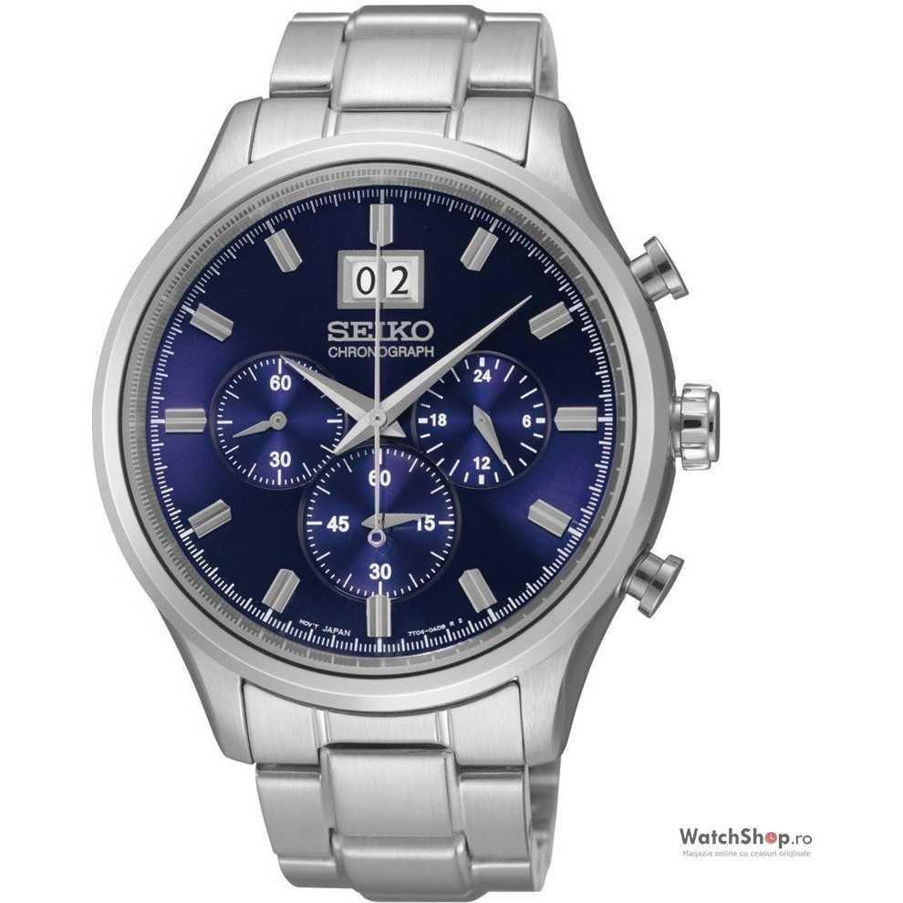 Ceas original Seiko PREMIER SPC081P1 Cronograf