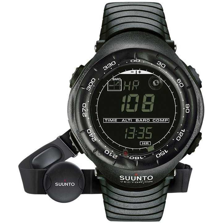 Ceas original Suunto OUTDOOR SS015301000 Vector Black HR
