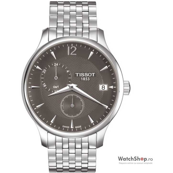 Ceas original Tissot T-CLASSIC T063.639.11.067.00 Tradition GMT