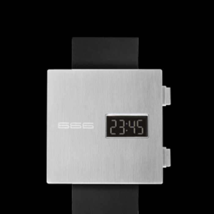 Ceas 666Barcelona James black rubber 8424210001527 Unisex