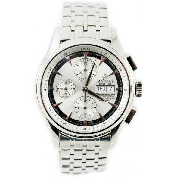 Ceas Atlantic WORLDMASTER 52850.41.21SM Lusso Cronograf Automatic Limited Edition Barbatesc