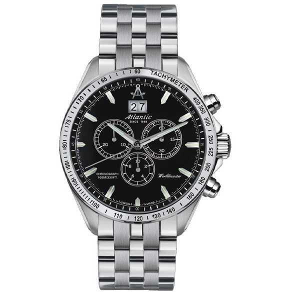 Ceas Atlantic WORLDMASTER CHRONO BIG DATE 55465.42.62 Barbatesc