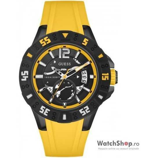 Ceas original Guess MAGNUM W0034G7 Yellow