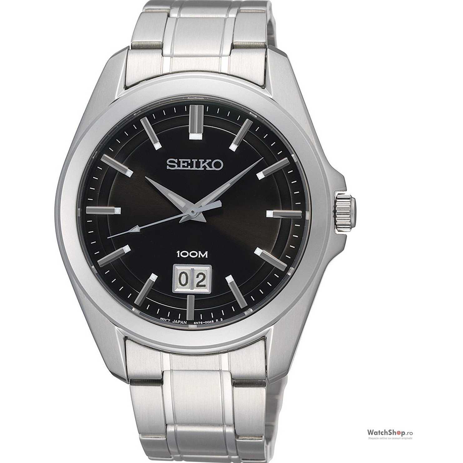 Ceas original Seiko CLASSIC SUR009P1 Grossdatum