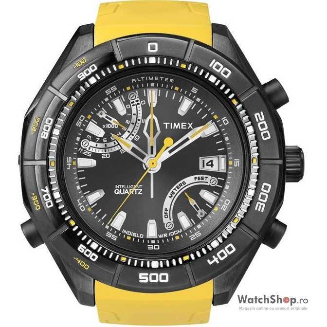Ceas original Timex EXPEDITION E-ALTIMETER T49796,T2N730 Intelligent Quartz