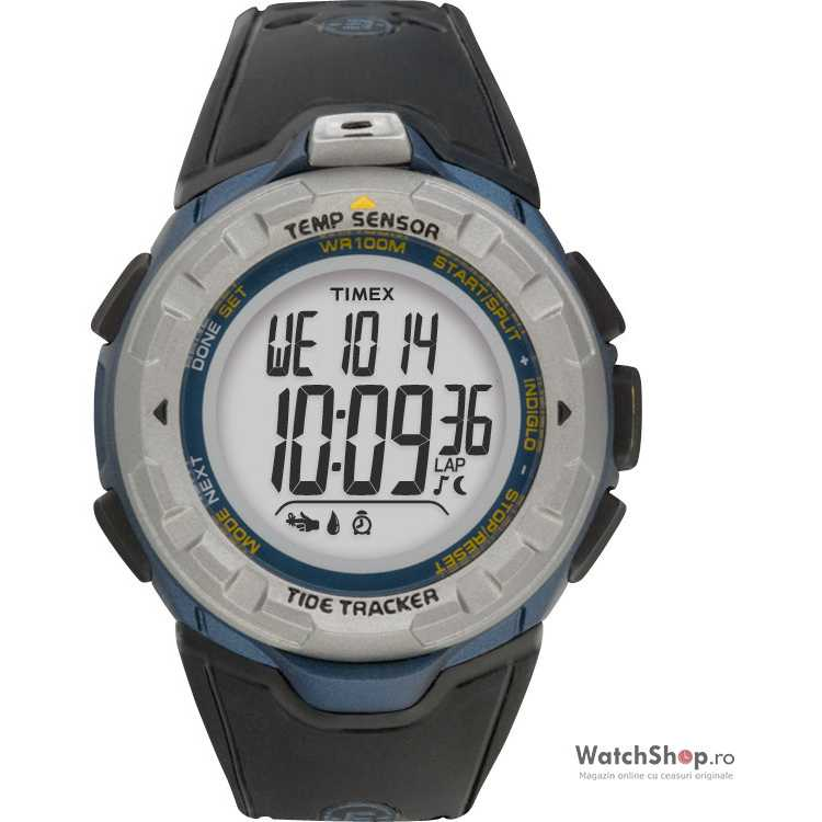Ceas original Timex EXPEDITION T46291 Tide Tracker
