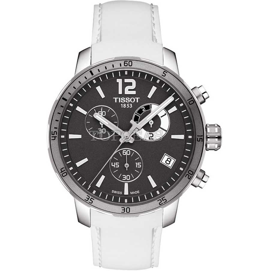 Tissot Quickster Chrono Grey White