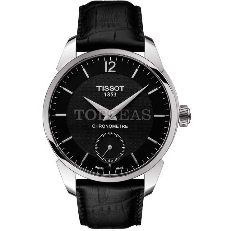 Tissot T-Complication COSC Steel Black