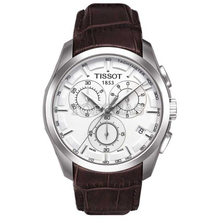Tissot Couturier Quartz Chronograph Leather 2