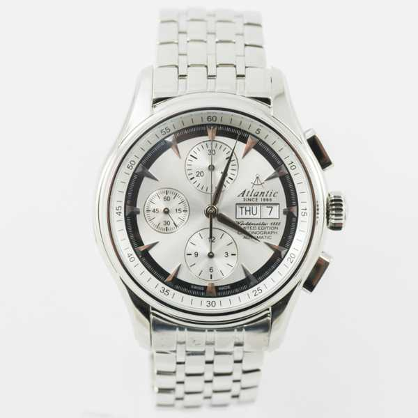 "Ceas Atlantic Worldmaster 1888 ""Lusso"" Chronograph Automatic Limited Edition 52850.41.21SM"