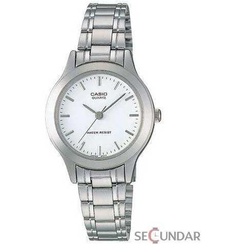 Ceas Casio CLASIC MTP-1128A-7ARDF White Dial Barbatesc