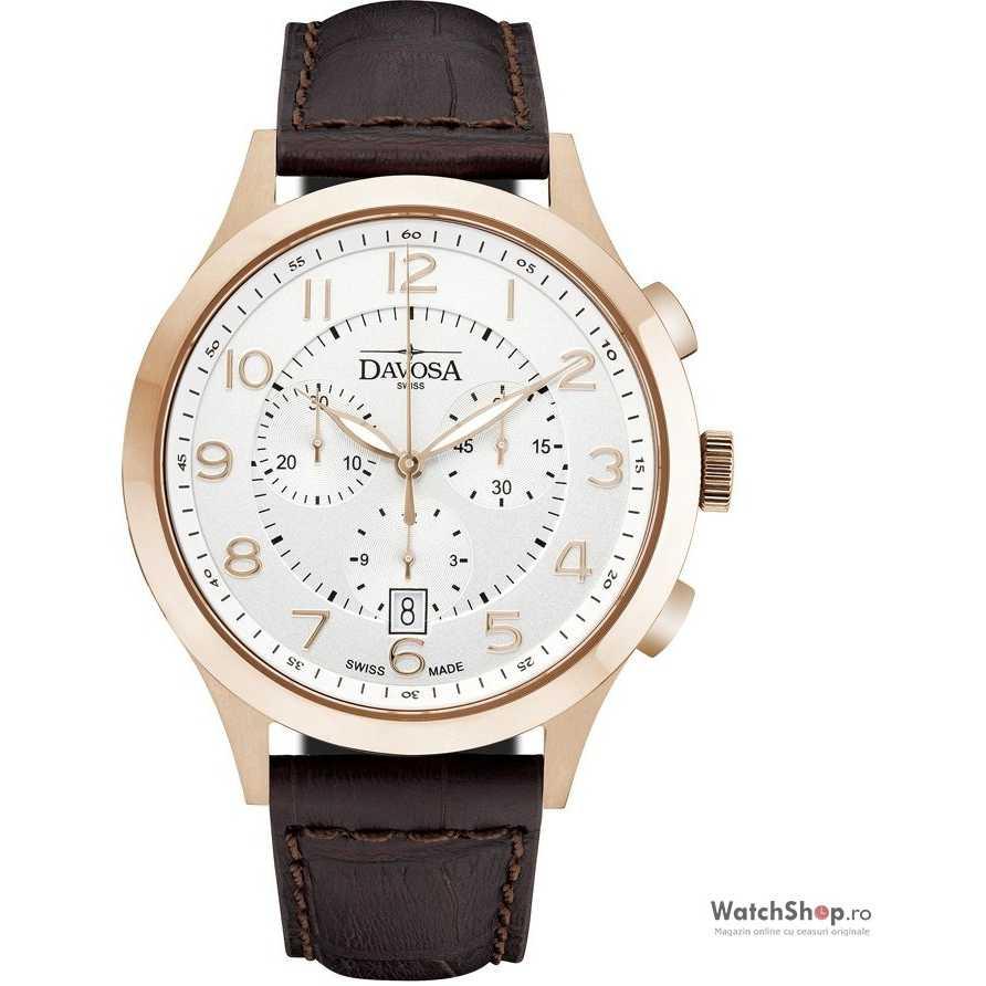 Ceas original Davosa METROPOLITAN 16243466 Cronograf