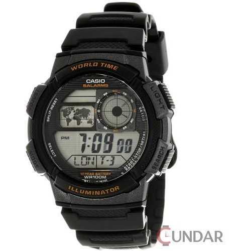 Ceas Casio Sports AE-1000W-1A Black Band Barbatesc