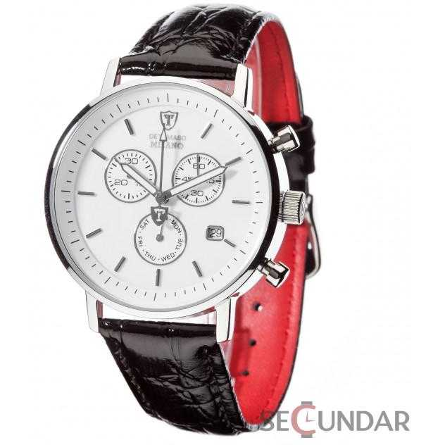 Ceas Detomaso MILANO Chronograph White/Black DT1052-E Barbatesc