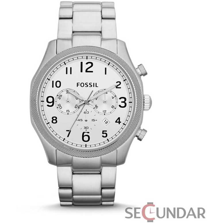 Ceas Fossil Foreman FS4861 Silver Stainless-Steel Barbatesc