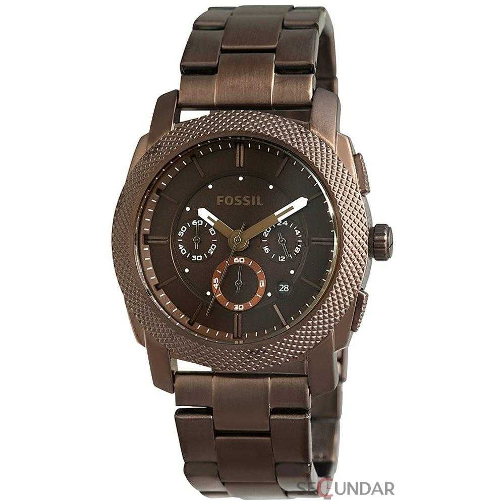 Ceas Fossil FS4661 Machine Stainless Steel Barbatesc