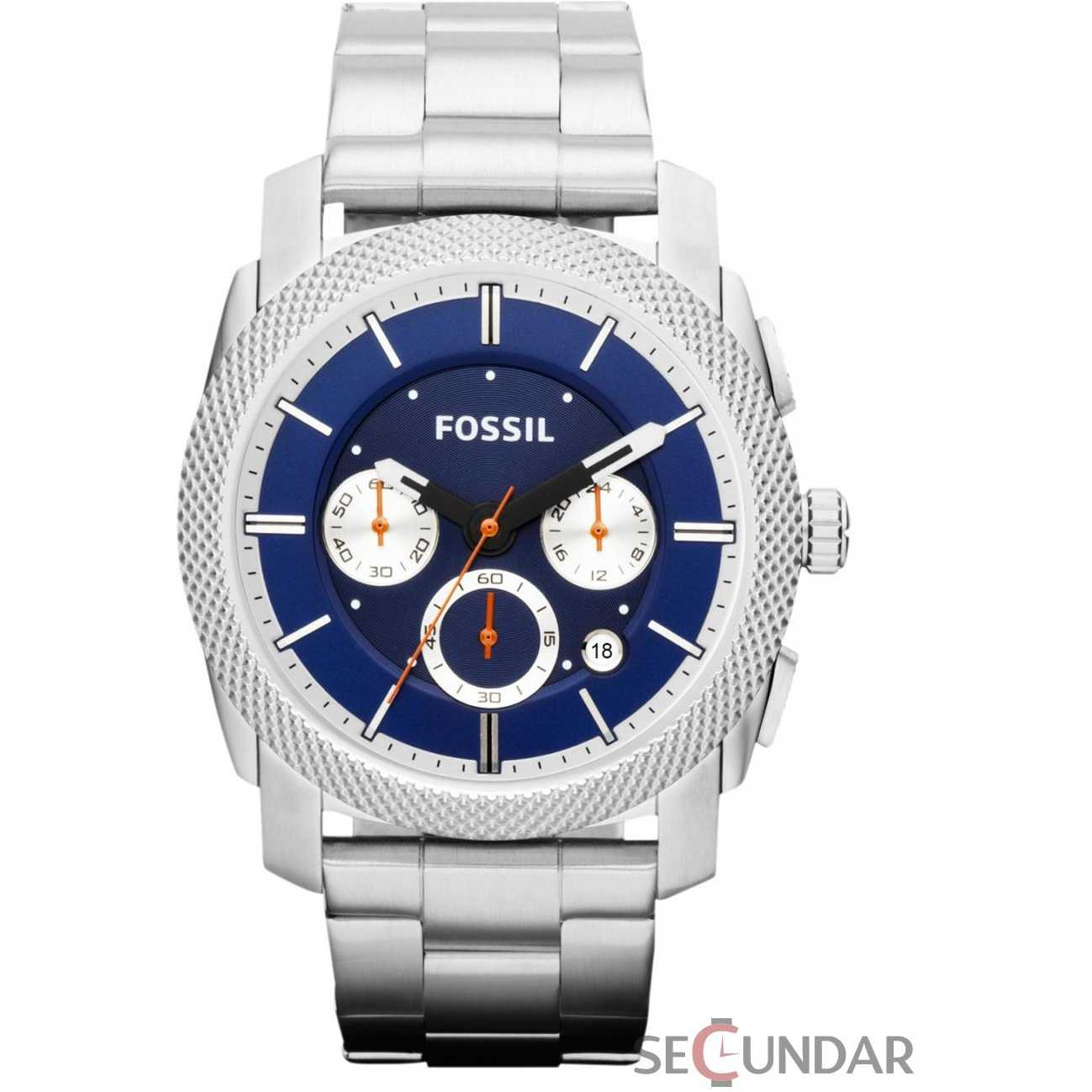 Ceas Fossil FS4791 Machine Chronograph Stainless Steel Watch Barbatesc