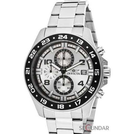 Ceas Invicta 13866 Pro Diver Chronograph Silver Dial Barbatesc