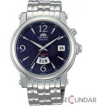 Ceas Orient CLASSIC AUTOMATIC CEM6A001DT Titanium Barbatesc