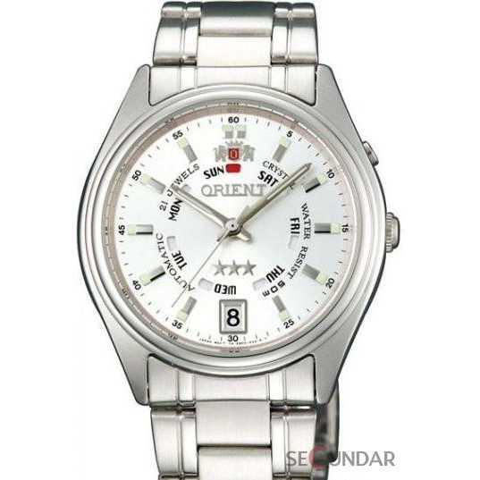 Ceas Orient CLASSIC AUTOMATIC FEM5J00LW Silver Dial Barbatesc