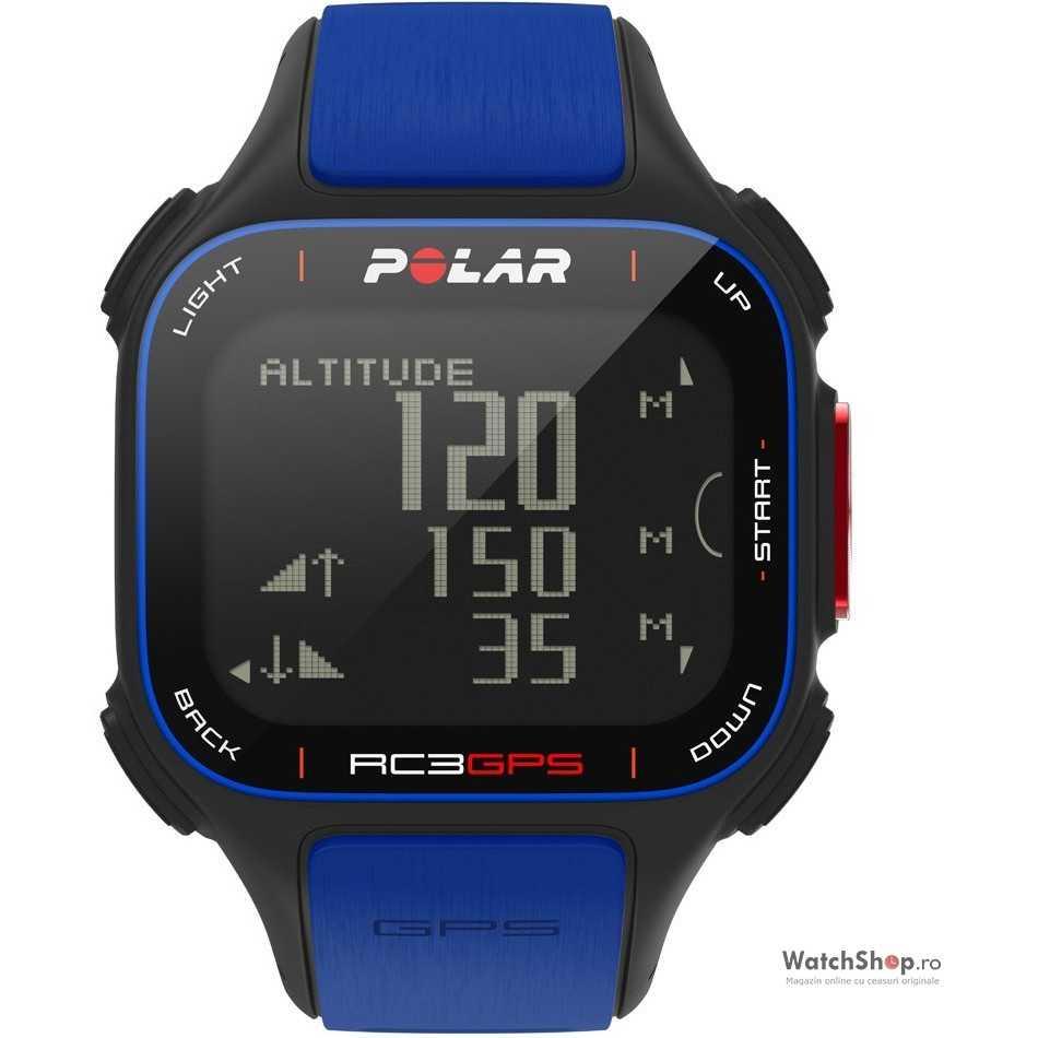Ceas Polar MULTISPORT RC3 GPS BLUE