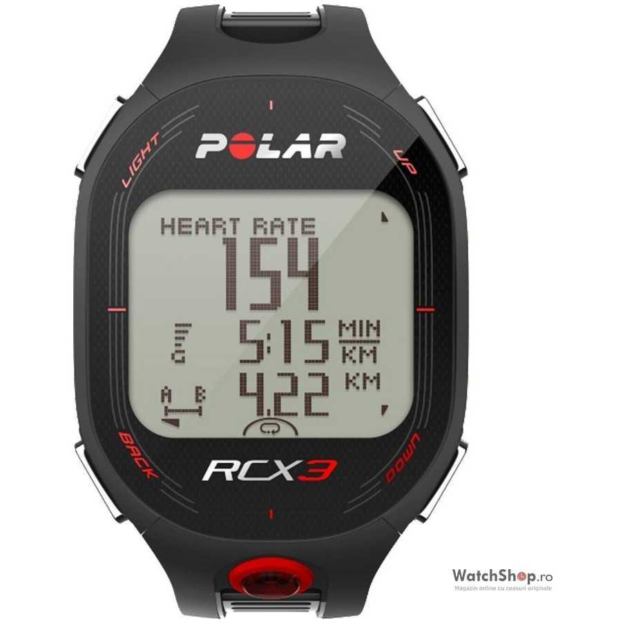 Ceas Polar MULTISPORT RCX3M RUN BLACK 90042158