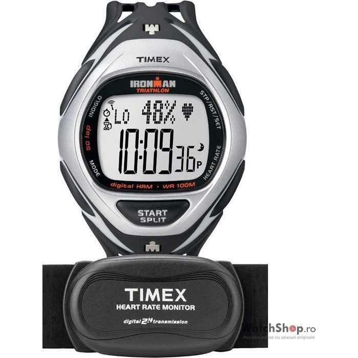Ceas Timex IRONMAN T5K568 Triathlon Race Trainer