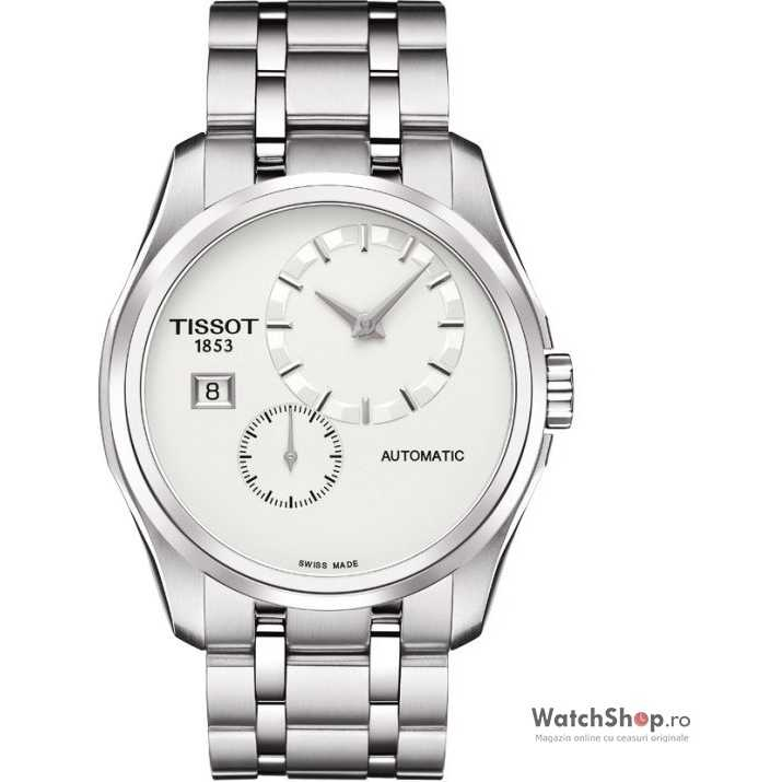 Ceas Tissot T-TREND T035.428.11.031.00 Couturier Automatic Small Second
