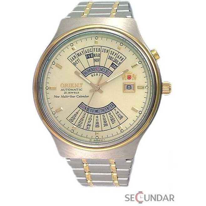 Ceas Orient Sporty Automatic FEU00000C Multi-Year Calendar Collection Barbatesc