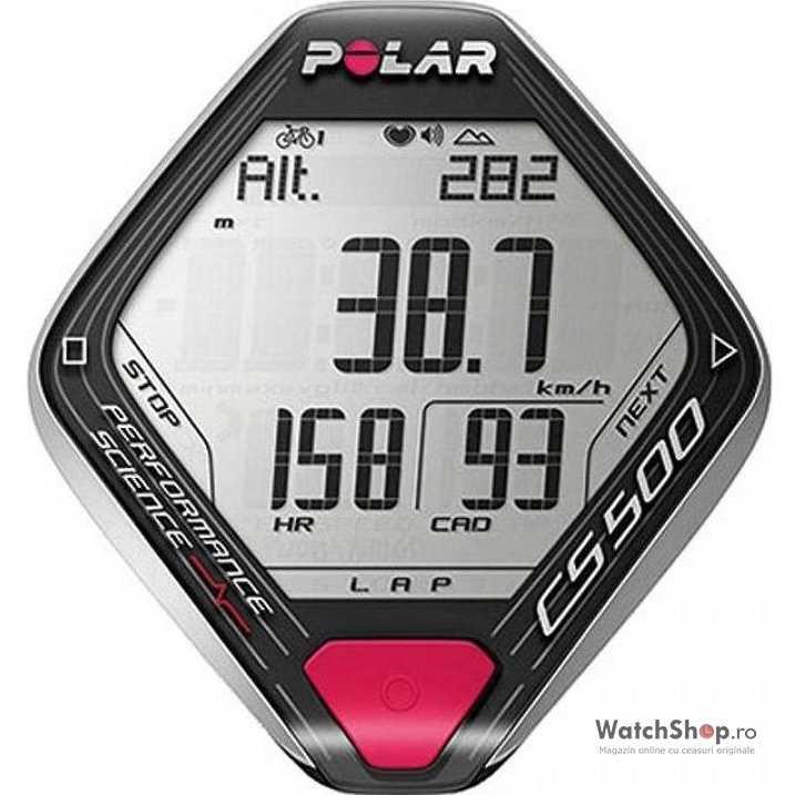 Ceas Polar CYCLING COMPUTERS 90043410 CS500+