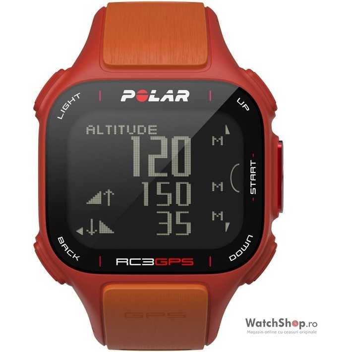 Ceas Polar MULTISPORT 90051075 RC3 GPS RED