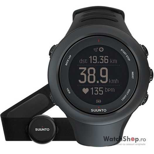Ceas Suunto AMBIT3 SPORT BLACK (HR)