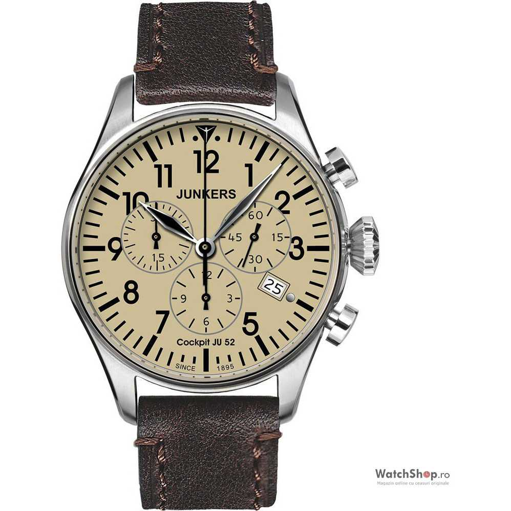 Ceas Junkers COCKPIT JU52 6180-5