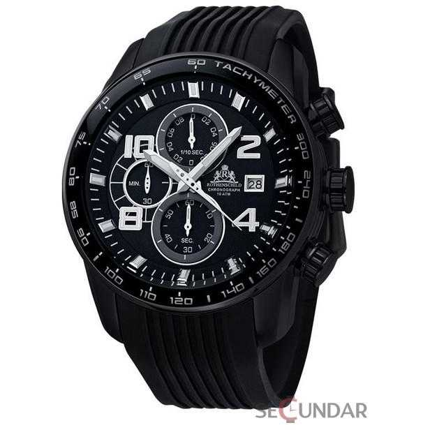 Ceas Rothenschild Stream Chronograph RS-1001-BKBK Barbatesc