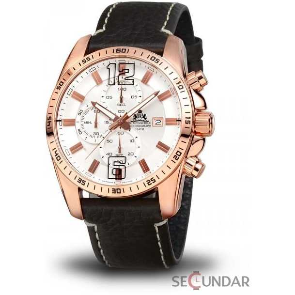 Ceas Rothenschild Techno Chronograph RS-1002-IR-WH Barbatesc