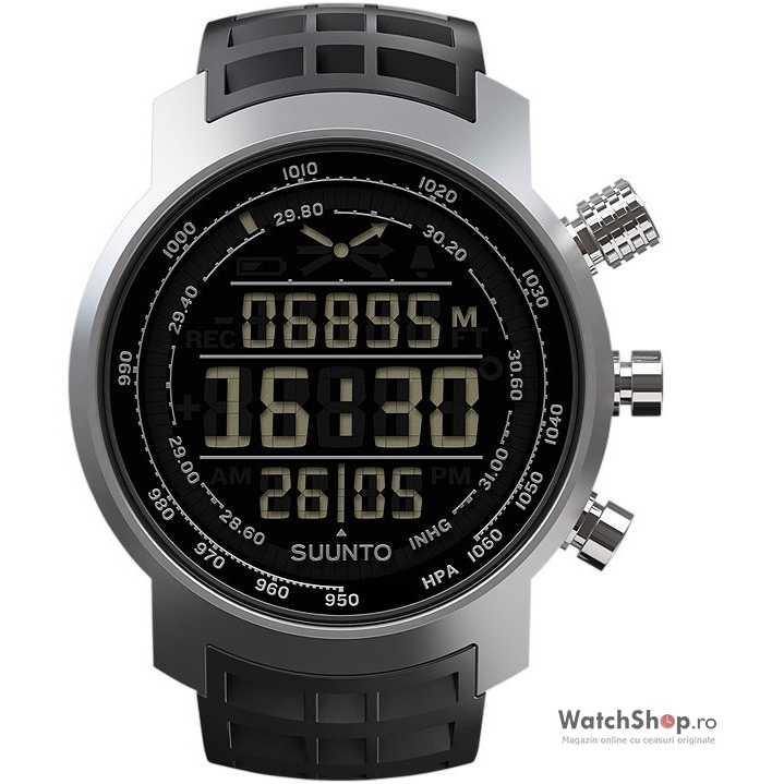 Ceas Suunto ELEMENTUM TERRA BLACK RUBBR DARK DISPLAY