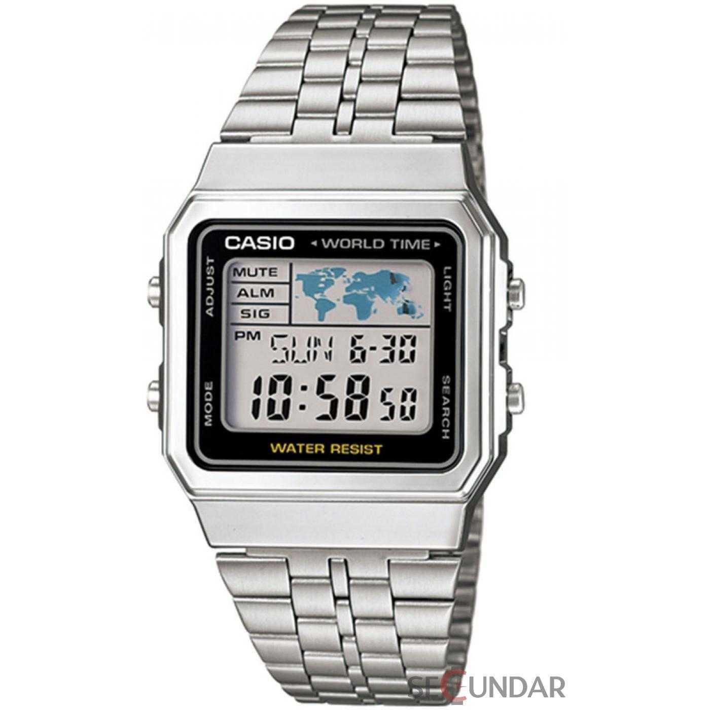 Ceas Casio A500WA-1D Retro Barbatesc