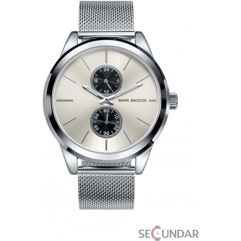 Ceas Mark Maddox CLASSIC HC3024-87 Silver Barbatesc