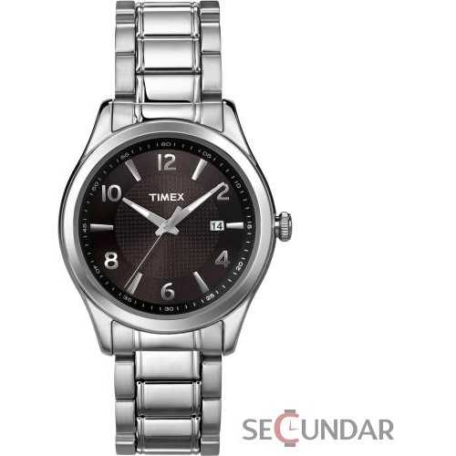 Ceas Timex Elevated Classics T2N928 Dress Black Dial Barbatesc