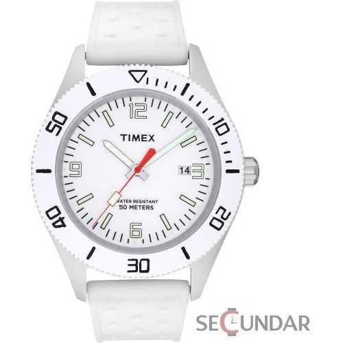 Ceas Timex Originals T2N533 White Barbatesc