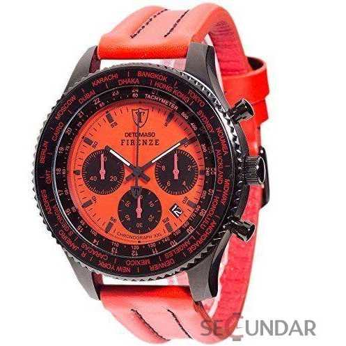 Ceas Detomaso DT1045-C FIRENZE XXL Red Barbatesc