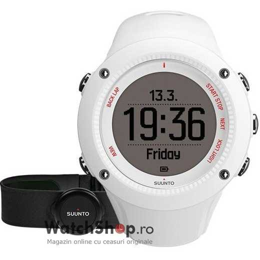 Ceas Suunto AMBIT3 RUN WHITE (HR)