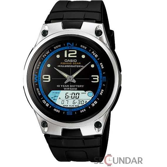 Ceas Casio Analog-Digital AW-82-1AVDF Barbatesc