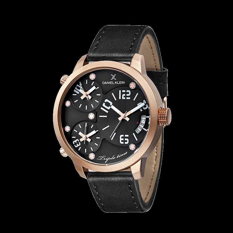 Ceas Daniel Klein Premium DK10814-1 Triple Time Barbatesc