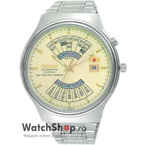 Ceas Orient SPORTY AUTOMATIC FEU00002CW Multi-Year Calendar