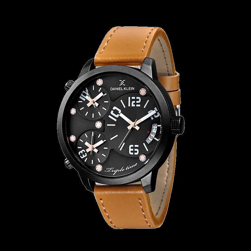 Ceas Daniel Klein Premium DK10814-2 Triple Time Barbatesc
