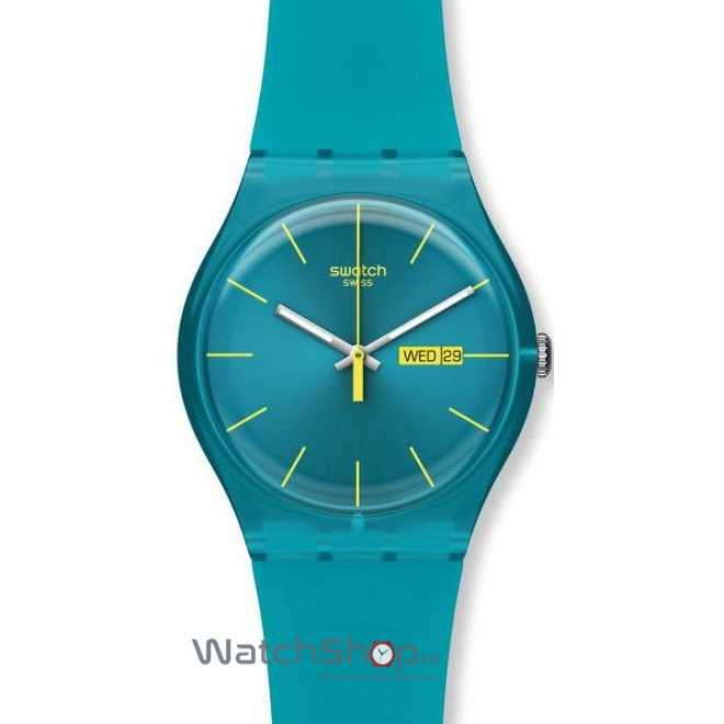 Ceas Swatch ORIGINALS NEW GENT SUOL700 Turquoise Rebel